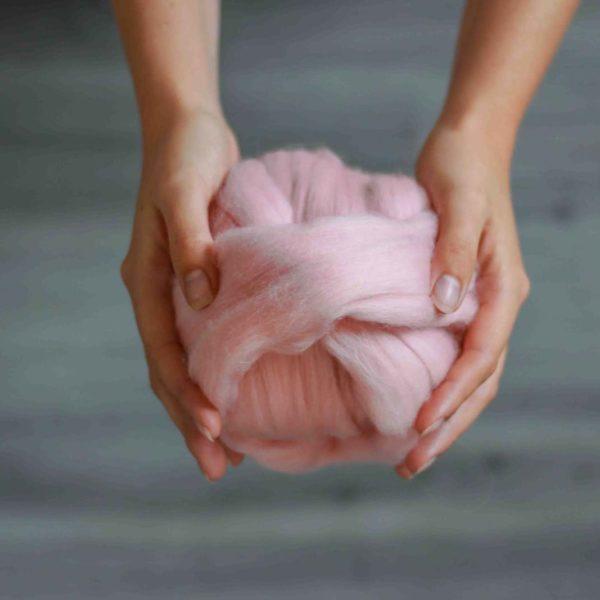 dicke Wolle zum Stricken