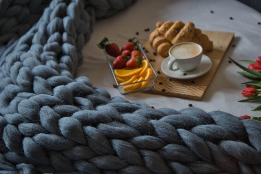 Gigantické ručné pletenie z tej najexkluzívnejšie európskej merino vlny