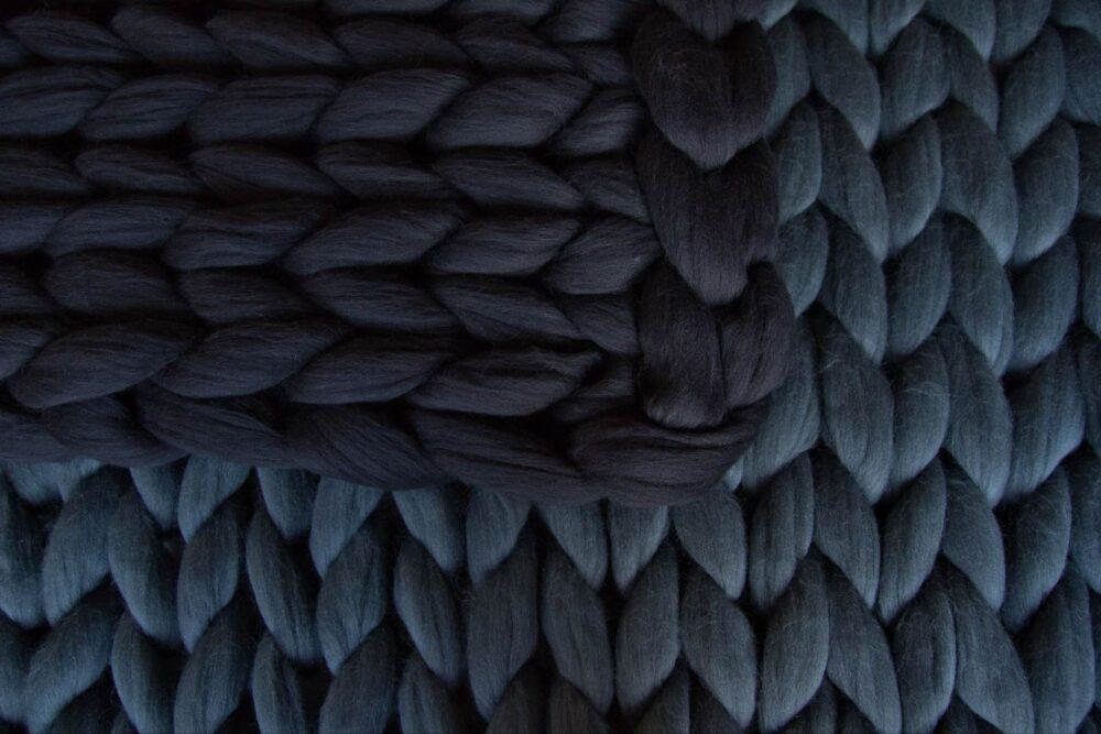 Obrie pletené deky Woolope